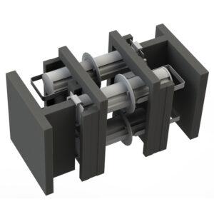 4 Unit Nitec Pharos LEDNIT130 Followspot Case