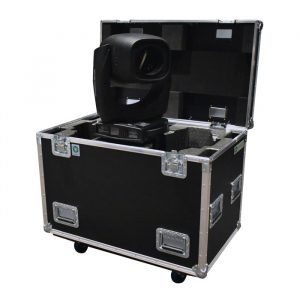 Dual ClayPaky Sharpy Plus Ovation Road Case - Black