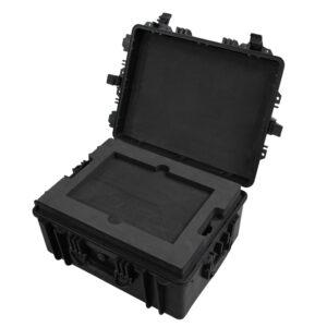 Custom CNC Foam Insert for Single Vatec EZRay Portable XRay Unit with Accessories, 17 HP Envy Laptop