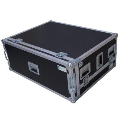 3 Piece ETC EOS 4K with 1RU Rack Mount for Slide-Out Shelf Ovation Road Case