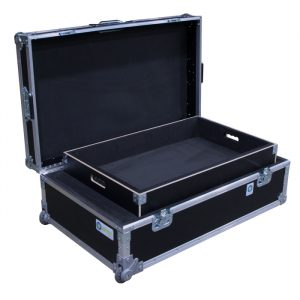 BT Server Rack Ovation Road Case with Removable Tray