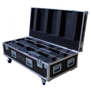 Dual L-Acoustics SYVA Colinear Speaker Ovation Road Case