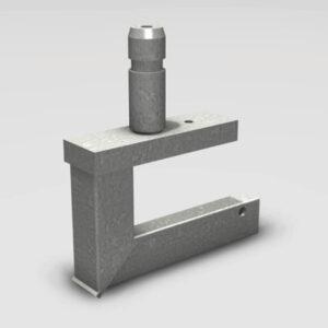 Easy Frame B Single 100kg/m Hand Rail Adaptor