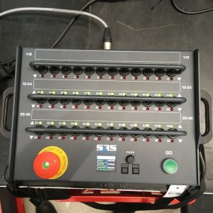 "SRS 12 Channel Digital Controller Cabled Remote 19"" Rack Mount"
