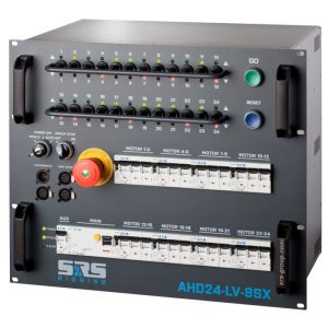SRS 4 Channel Low Voltage Digital Chain Hoist Controller