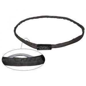 2.7m Steel-Tex Wire Rope Round Sling; 2,400kg Capacity