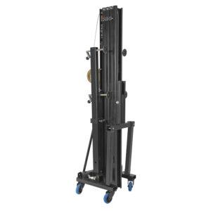 6.0m / 200kg Front Load Towerlift - Black