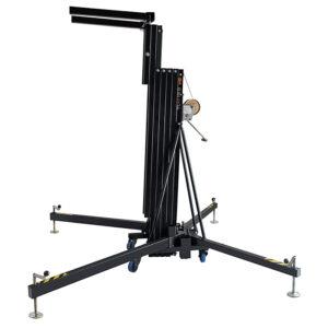 5.3m/150kg Line Array Towerlift - Black