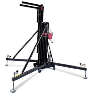 5.8m/300kg Line Array Towerlift - Black
