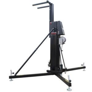 8.2m/400kg Line Array Towerlift - Black
