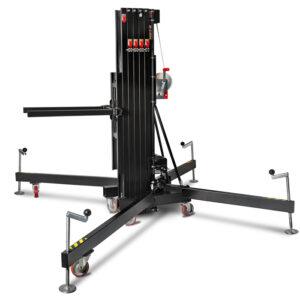8m/350kg Front Load Towerlift - Black