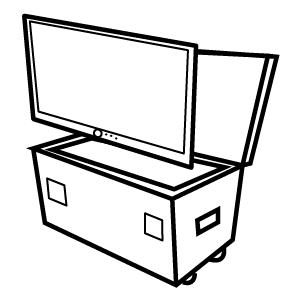 Motorised Screen Cases